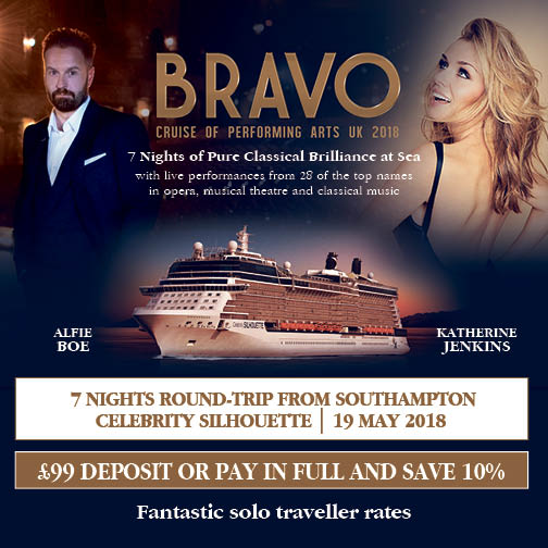 BRAVO  - cruise of performing arts UK 2018