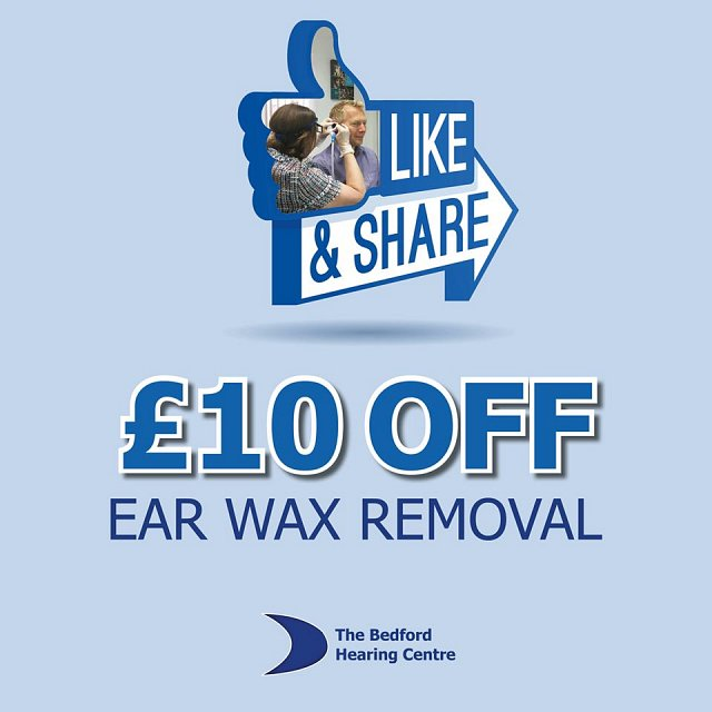 £10 OFF Ear Wax Removal