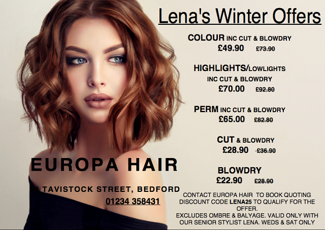 Lena's Winter Offers