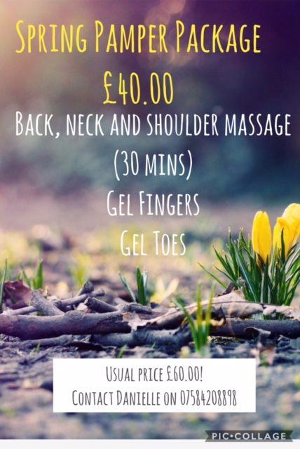 Spring Pamper Package just £40