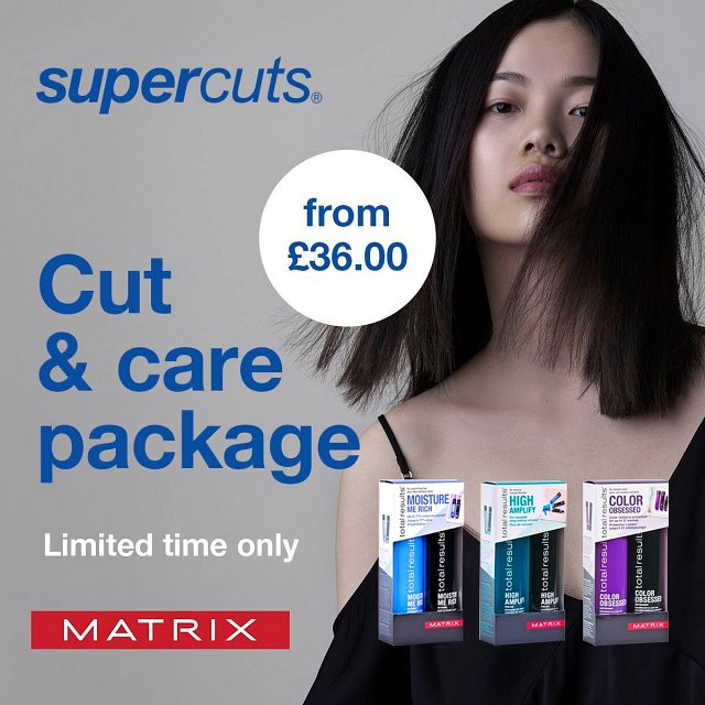 Free Matrix Shampoo & conditioner