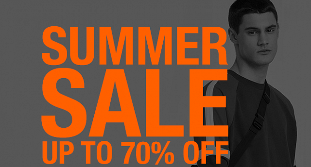 Up to 70% summer sale
