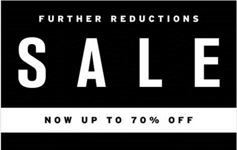 Now up to 70% off